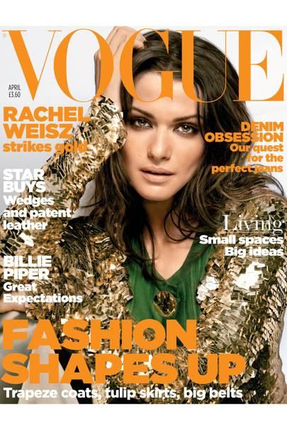 Vogue Cover, April 2006