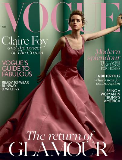 4f6a99de464e British Vogue Magazine - November 2017