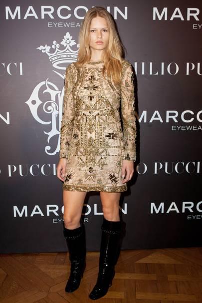 Emilio Pucci Eyewear Global Launch, Paris - January 26 2015