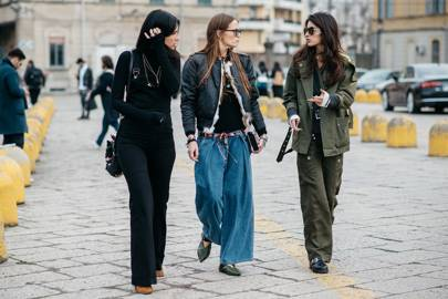 Game-changer: Super-wide trousers
