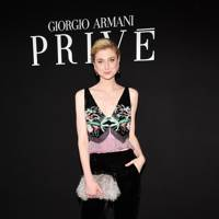 Giorgio Armani Prive Haute Couture AW18 show, Paris - July 3 2018
