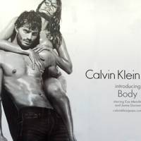 Eva Mendes and Jamie Dornan for Calvin Klein, 2009