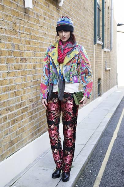 Anna Plunkett, fashion designer