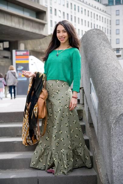 Lisa King, accessories designer