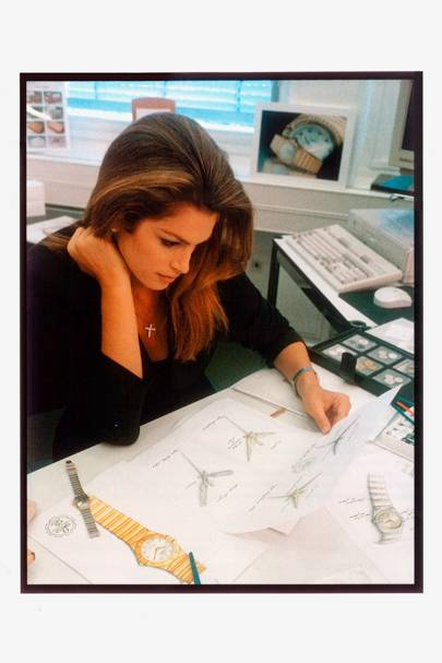 Cindy Crawford's Omega Journey - 1996