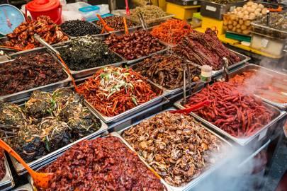 The Street Food Stalls
