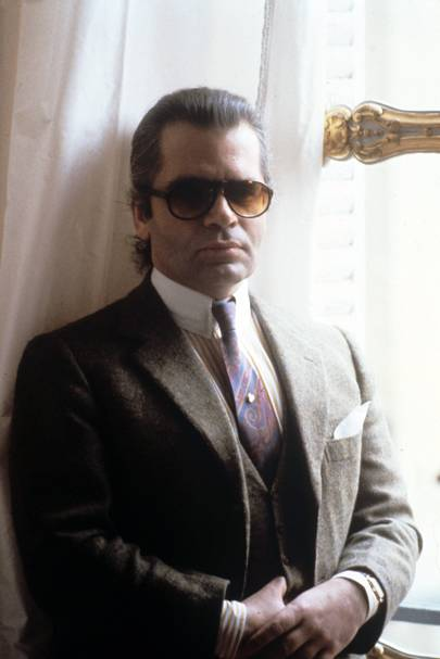 karl lagerfeld  life in pictures