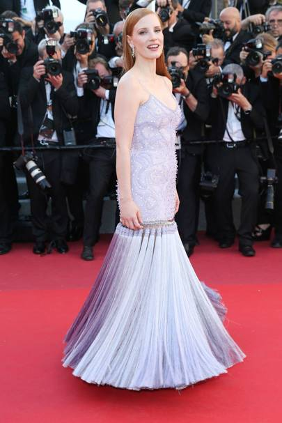 7. Jessica Chastain in Givenchy Haute Couture