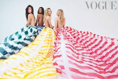 Couture Angels - Vogue November 2014
