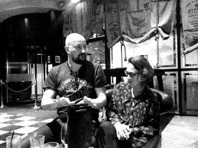 Clint Mansell and Carly Paradis