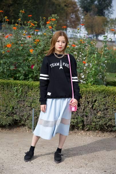 Cassie Lin, student