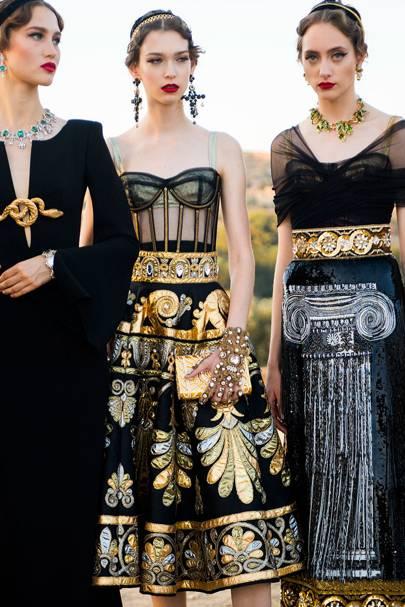Dolce Gabbana Alta Moda Autumn Winter 2019 Couture Show Report British Vogue