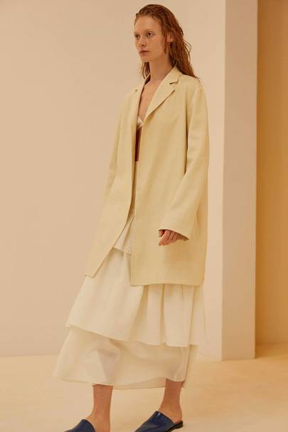 35b92a67078 Theory Spring/Summer 2019 Ready-To-Wear show report | British Vogue