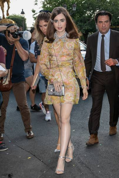 Miu Miu 2019 Cruise show, Paris - June 30 2018