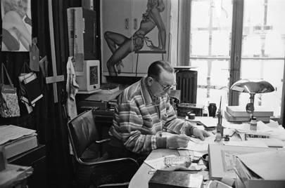 Louis Réard at work