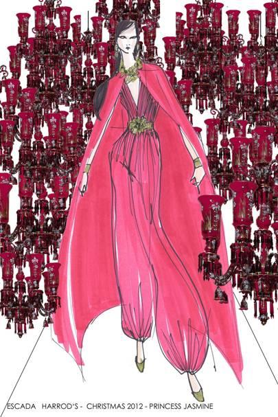 Jasmin from Aladdin by Escada