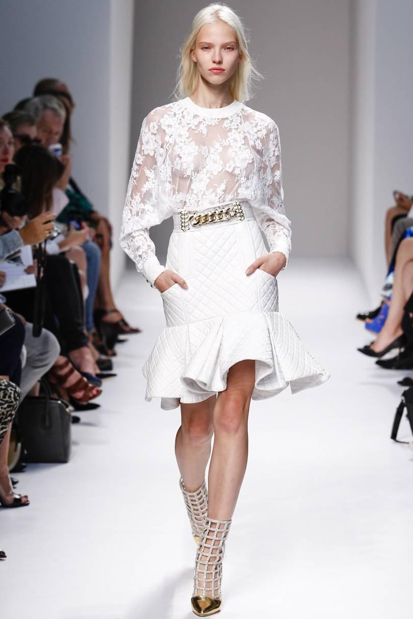 {fashion inspiration | runway : balmain spring-summer 2014, paris}