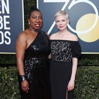 Tarana Burke and Michelle Williams