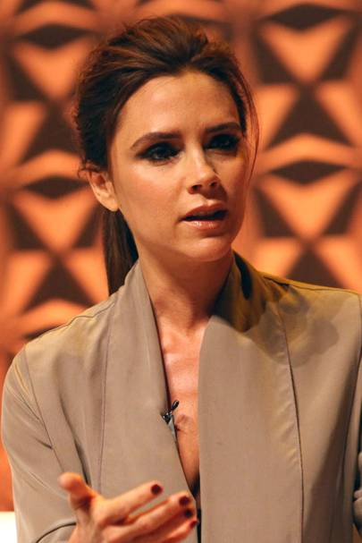 Victoria Beckham at the Vogue Festival