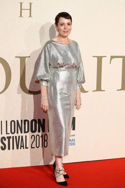 The Favourite premiere, London - October 18 2018