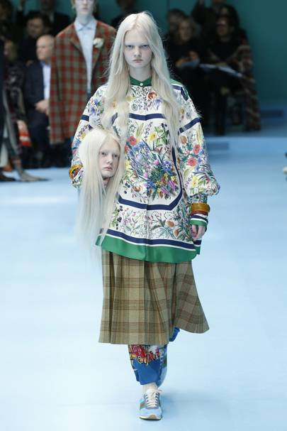 Image result for Gucci 2018 Fall Winter Collection Runway Fashion Week Alessandro Michele vogue