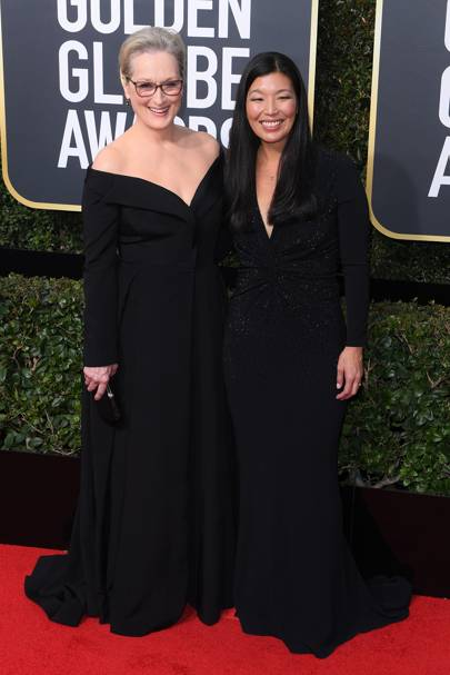 Ai-jen Poo and Meryl Streep