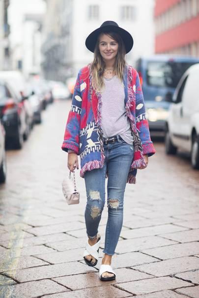 Carlotta Oddi, fashion assistant