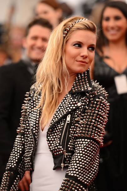 The studded leather jacket