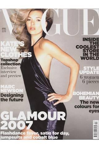 British Vogue, April 2007