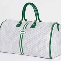 Goyard's travel bag