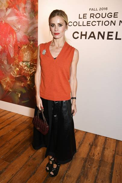 Chanel x Lucia Pica make-up launch, London - June 23 2016