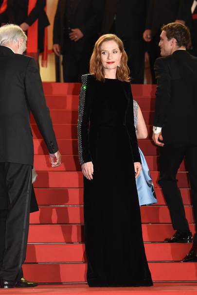 Isabelle Huppert in Saint Laurent