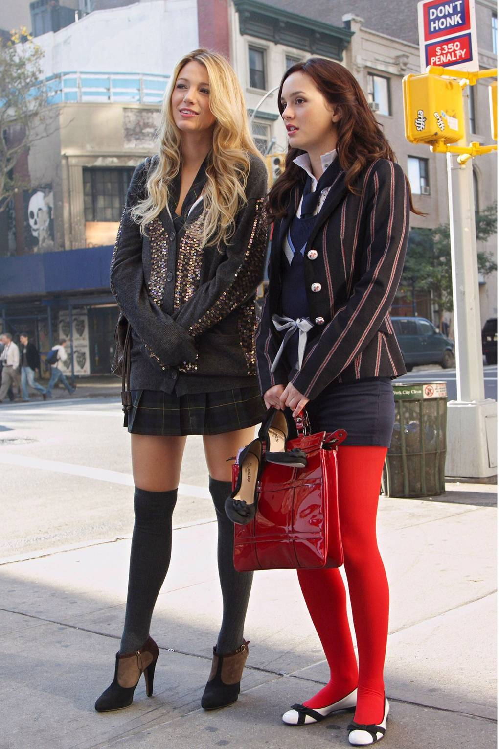 57cf8ad8e Blake Lively Serena van der Woodsen Gossip Girl Style Outfits ...