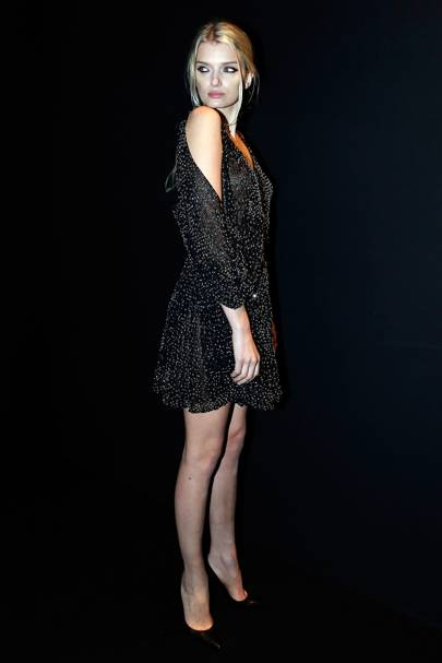 Saint Laurent show - October 5 2015