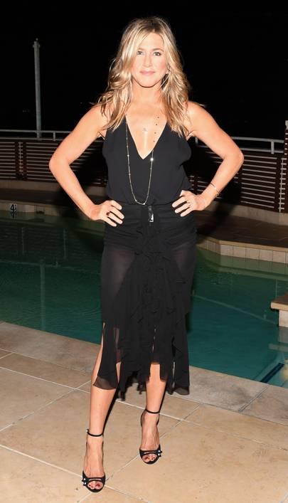 Tabitha Simmons By Jennifer Aniston Dinner, Los Angeles - October 12 2017