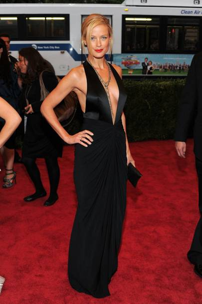 At the 2012 Met Ball