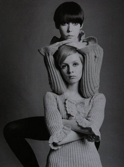 Twiggy and Peggy Moffat
