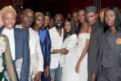 Co-producing Arise Lagos Fashion Week in 2018