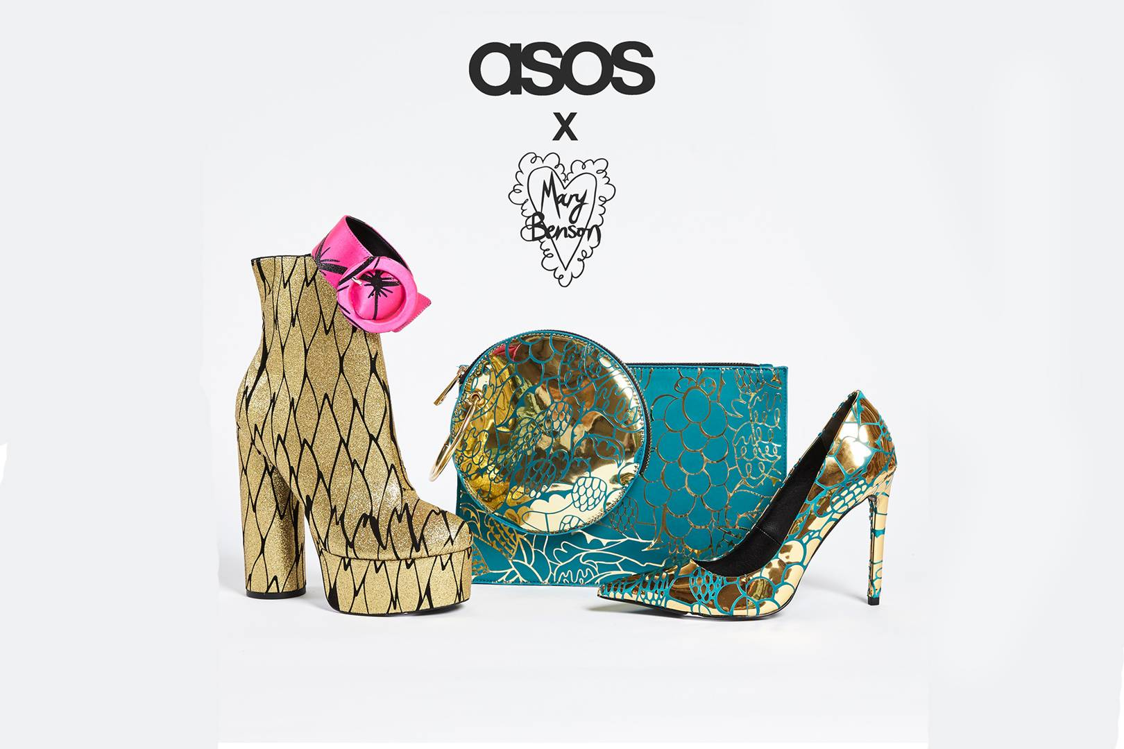 e833acbdc4 Mary Benson Collaborates With ASOS On New Accessories Collection | British  Vogue