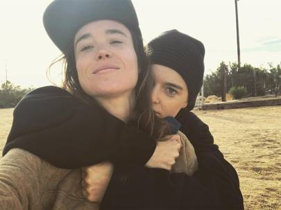 Ellen Page and Emma Porter