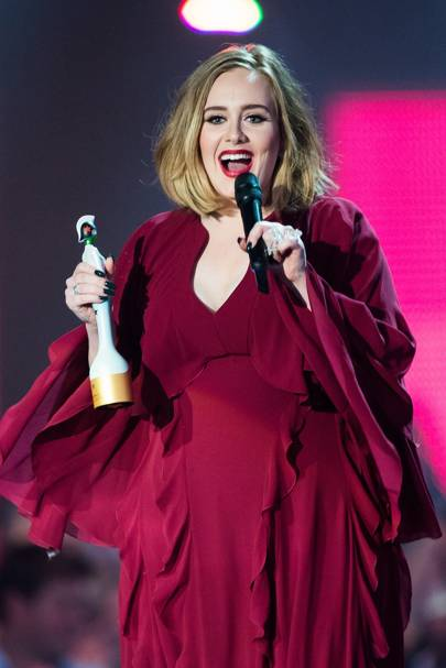 Adele's Adorable Speech(es)