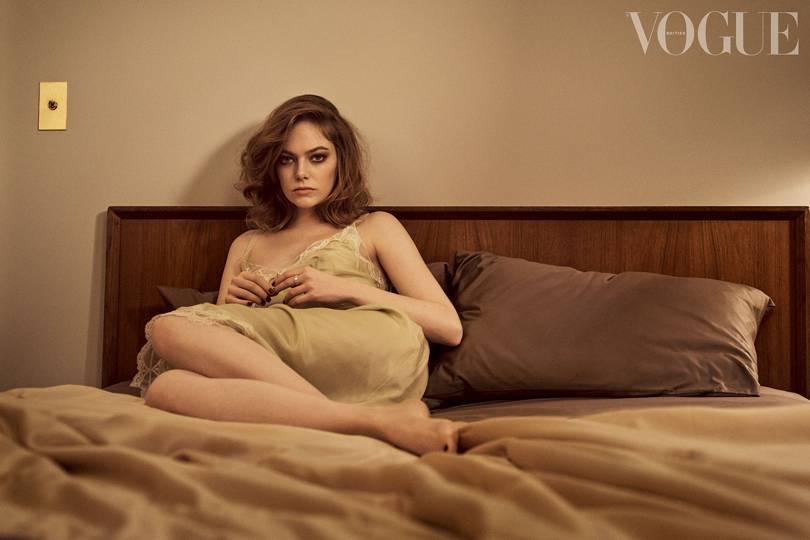 Emma Stone di majalah Vogue