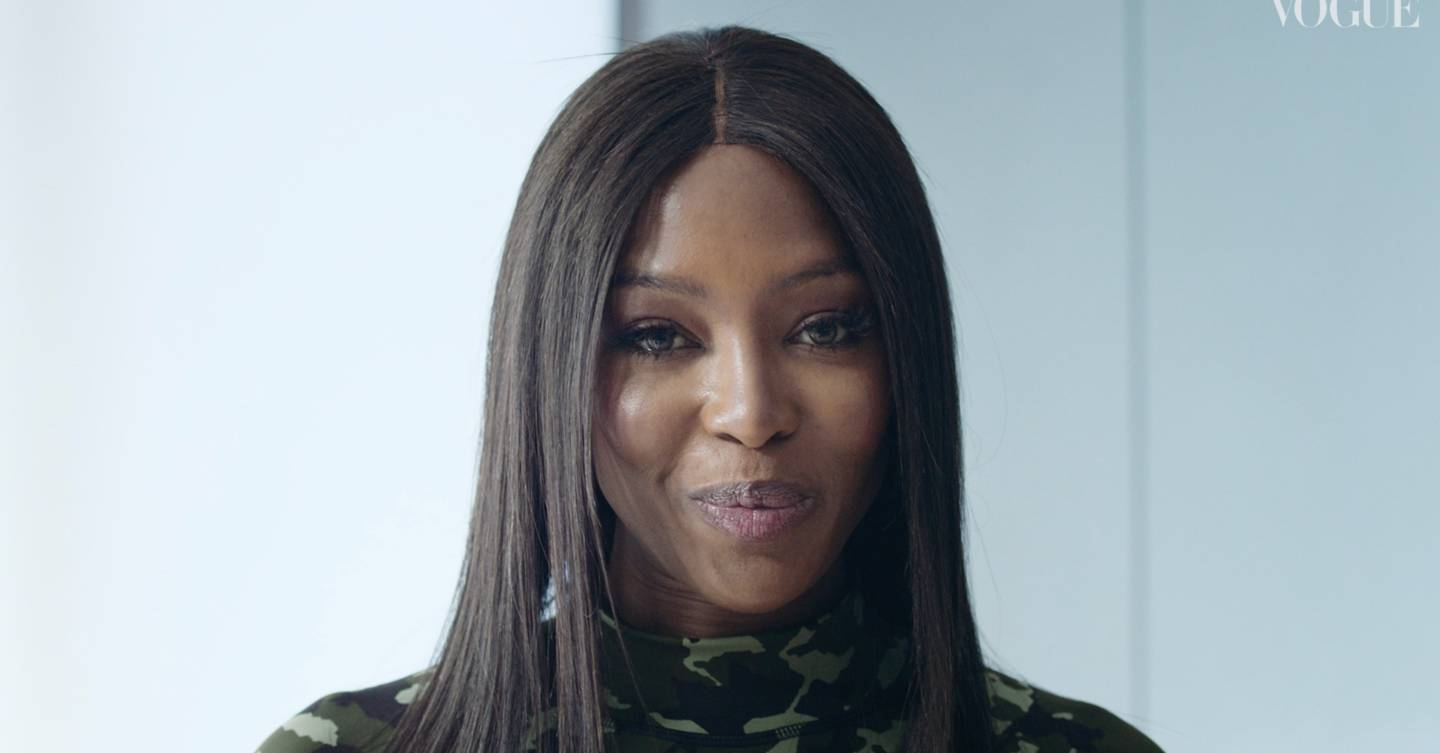 Work Out With Naomi Campbell