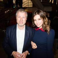 Dasha Zhukova and Roman Abramovich
