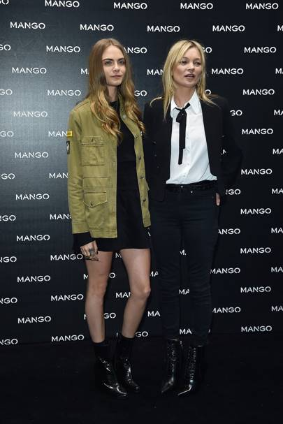 Mango spring/summer 2016 launch, Milan - September 23 2015