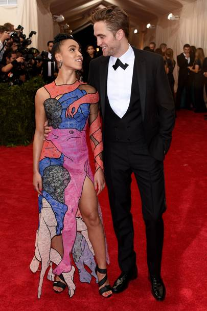 FKA Twigs and Robert Pattinson