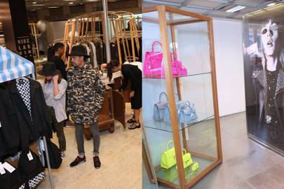 Imaginative themes fill different areas of the six-floor store