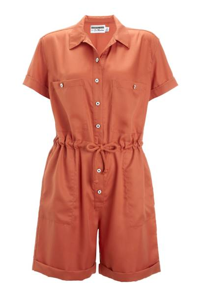 Orange one-piece, £120