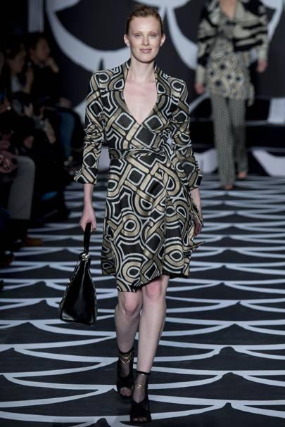 8c2364ef2e19 Diane Von Furstenberg Autumn Winter 2014 Ready-To-Wear show report ...