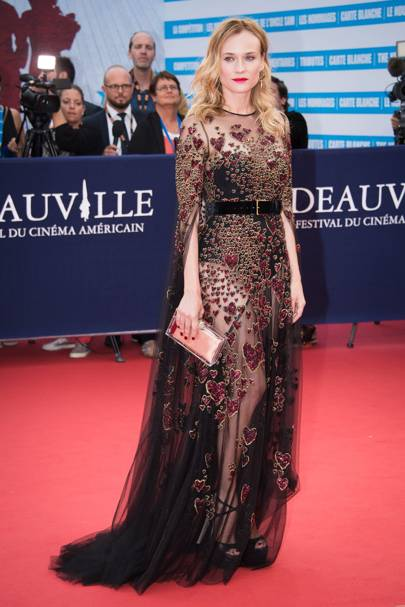 Deauville American Film Festival opening ceremony, France - September 3 2016